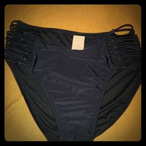 Xhilaration black swim bottoms